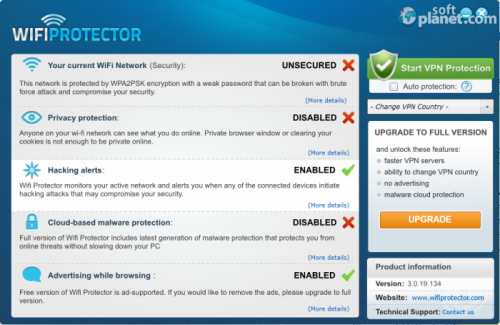 WiFi Protector 3.0.19.134