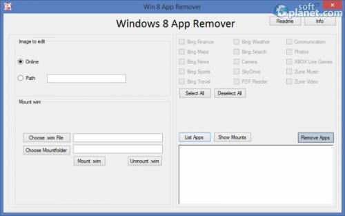 Win 8 App Remover 0.35
