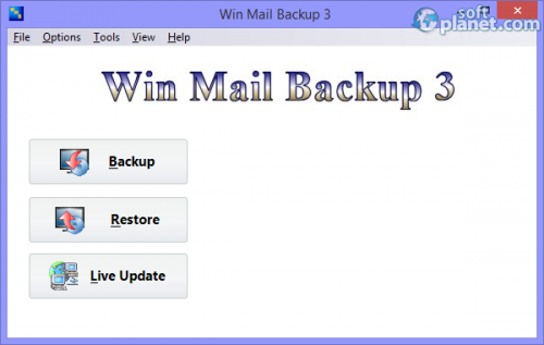 Win Mail Backup 3.0.5