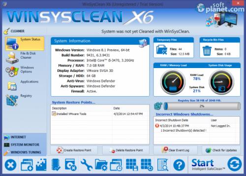 WinSysClean 16.02