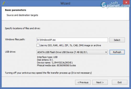 WinToFlash 0.8.0122 Beta