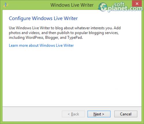 Windows Live Writer 2012 16.4.3508