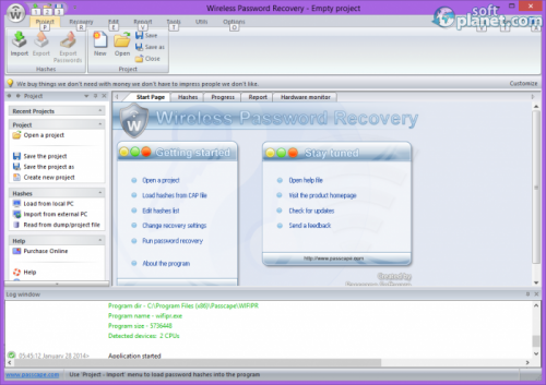 Wireless Password Recovery 3.2.2.303