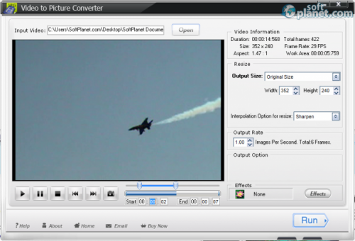 WonderFox Video to Picture Converter 1.1