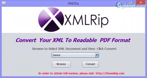 XMLRIP 1.0.0