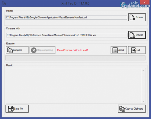 XML Tag Diff 1.1.0.0