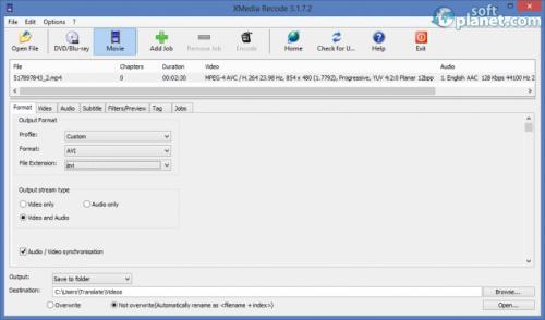 Xmedia Recode 3.2.2.0