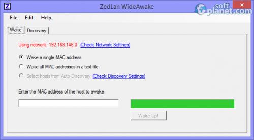 ZedLan WideAwake 1.6.0