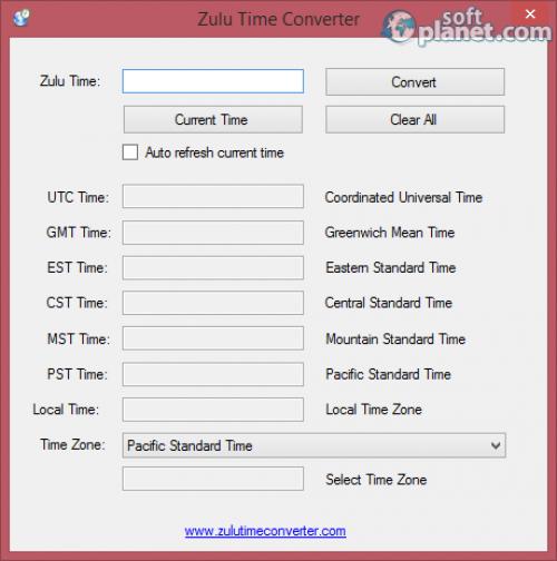 Zulu Time Converter 1.0
