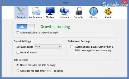 Growl for Windows Screenshot2