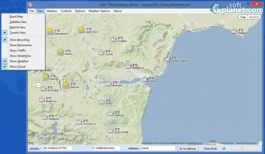 TMS WebGMaps Screenshot5
