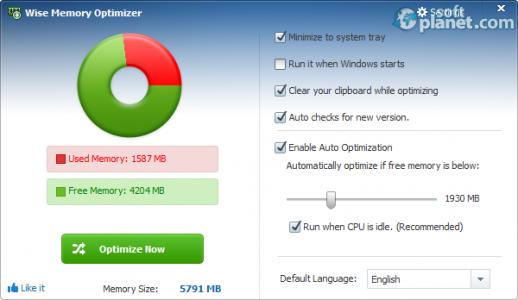 Wise Memory Optimizer Screenshot2