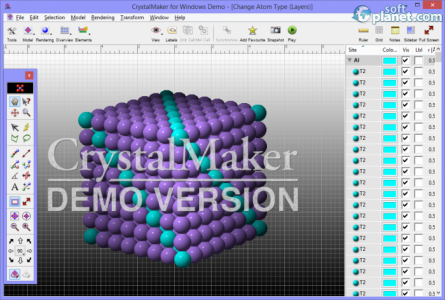 CrystalMaker Screenshot2
