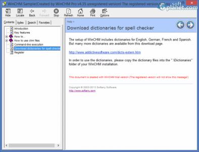 WinCHM Pro Screenshot3