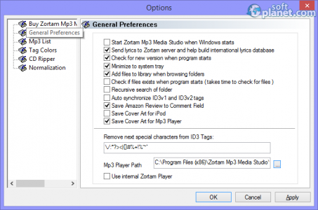 Zortam Mp3 Media Studio Screenshot4