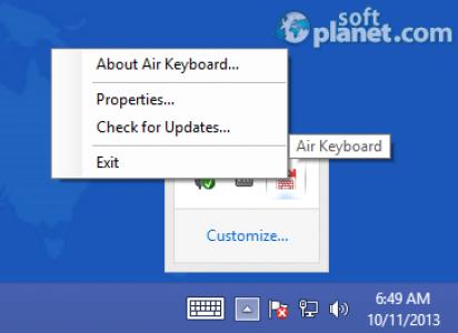 Air Keyboard Screenshot3