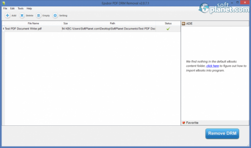 PDF DRM Removal Screenshot3