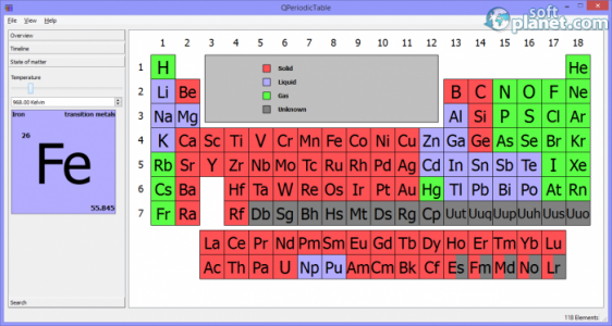 QPeriodicTable Screenshot2