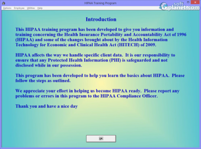 HIPAA Training Program Screenshot4