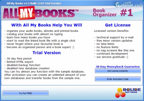 All My Books Screenshot3