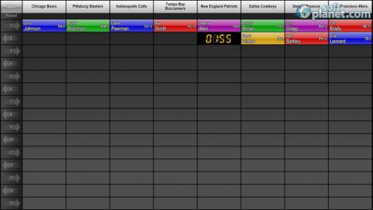 PrimeTime Draft Football 2013 Screenshot4