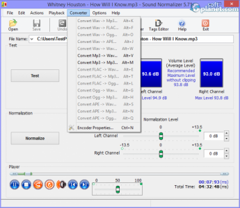 Sound Normalizer Screenshot3