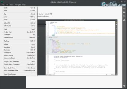 Adobe Edge Code CC Screenshot2