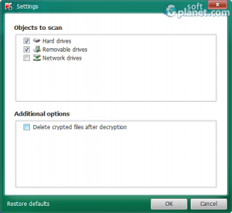 Kaspersky RectorDecrtyptor Screenshot2