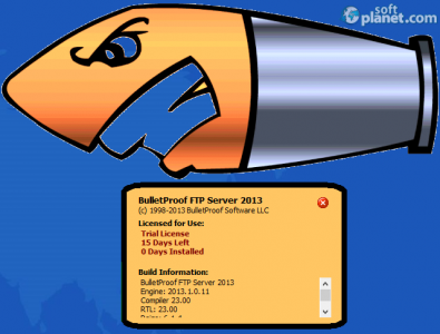 BulletProof FTP Server Screenshot5