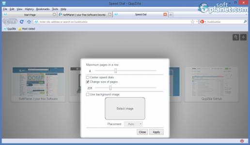 QupZilla Screenshot4