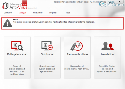 Ashampoo Anti-Virus 2014 Screenshot2