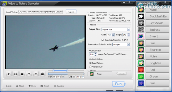 WonderFox Video to Picture Converter Screenshot2