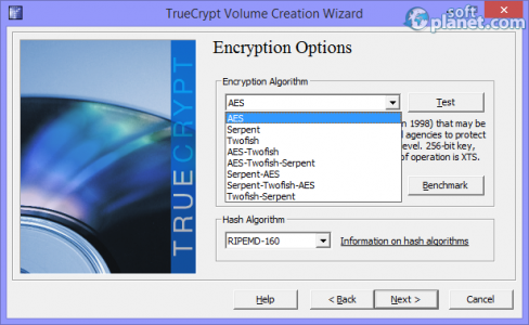 TrueCrypt Screenshot4