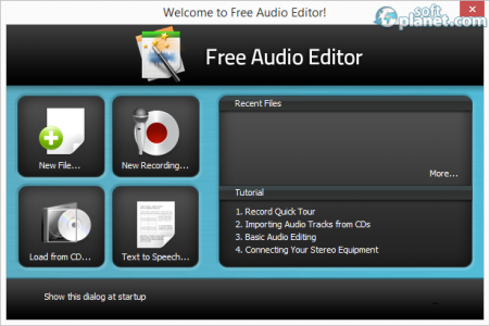 Free Audio Editor Screenshot2