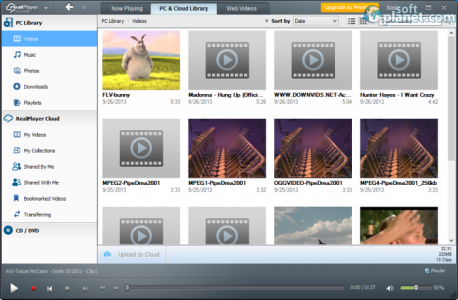 RealPlayer Cloud Screenshot2