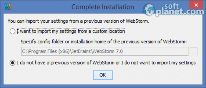 Web Storm Screenshot4