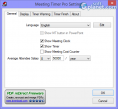 Meeting Timer Pro Screenshot2