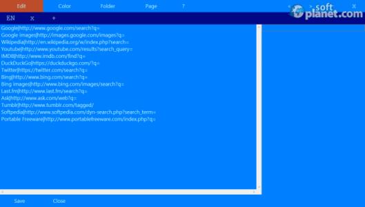 Simple Custom Search Screenshot2
