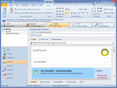 SmartSerialMail Screenshot3