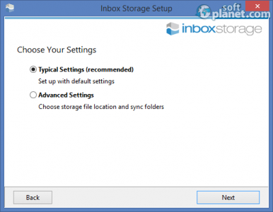Inbox Storage Screenshot4