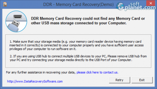 Memory Card Recovery Software Screenshot2