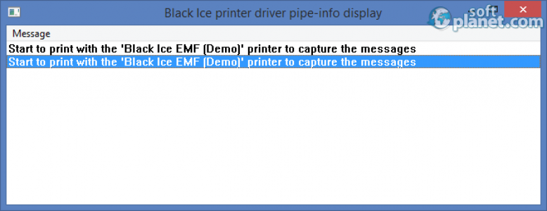 EMF Printer Driver Screenshot2