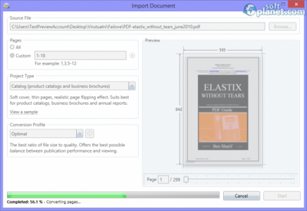FlippingBook Publisher Screenshot3