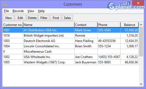 BS1 Professional Time Billing Screenshot2