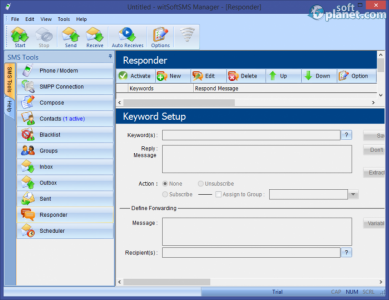 witSoft SMS Manager Screenshot5