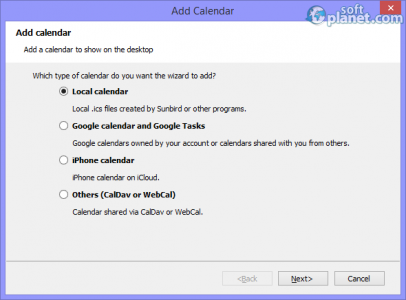 Desktop iCalendar Screenshot4