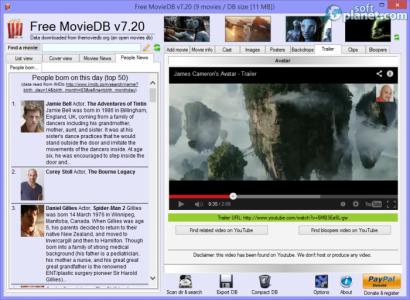Free MovieDB Screenshot4