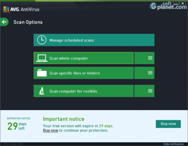 AVG AntiVirus Screenshot3