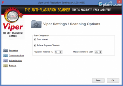 Viper The Anti-plagiarism Scanner Screenshot4