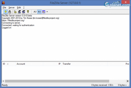FileZilla Server Screenshot2